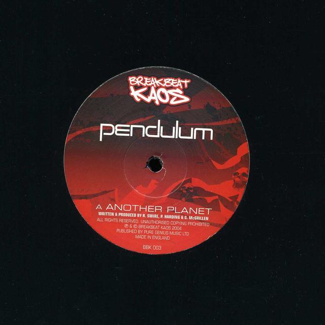Pendulum ANOTHER PLANET/VOYAGER Vinyl Record - UK Import