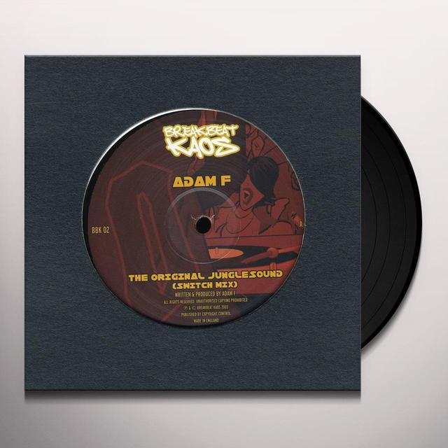 Adam F/Dj Fresh ORIGINAL JUNGLESOUND EP Vinyl Record - UK Release