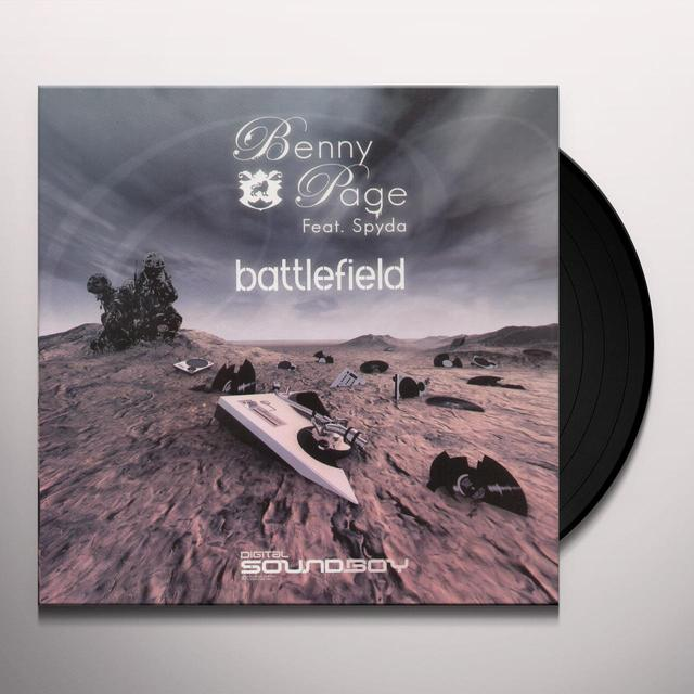 Benny Page BATTLEFIELD/CANT TEST Vinyl Record