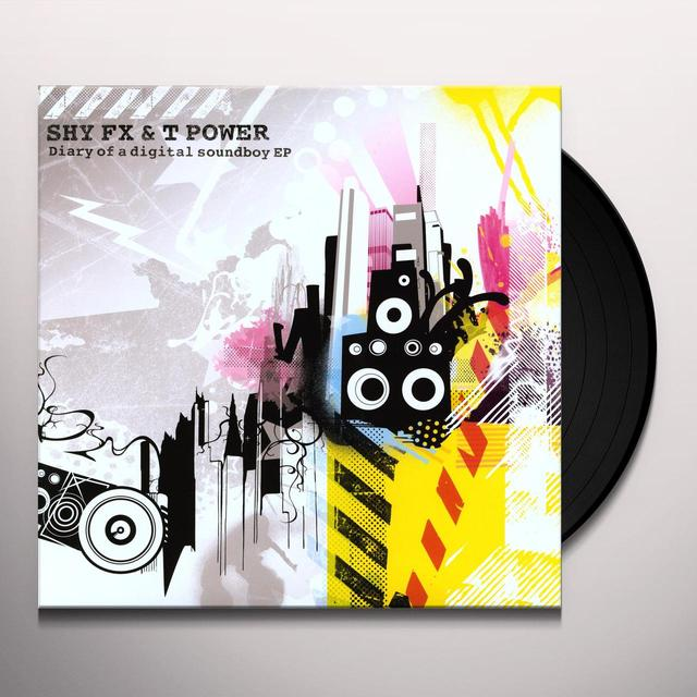 Shy Fx & T Power DIARY OF A DIGITAL SOUNDBOY Vinyl Record