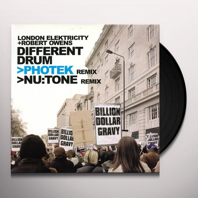 London Elektricity DIFFERENT DRUM Vinyl Record - UK Import
