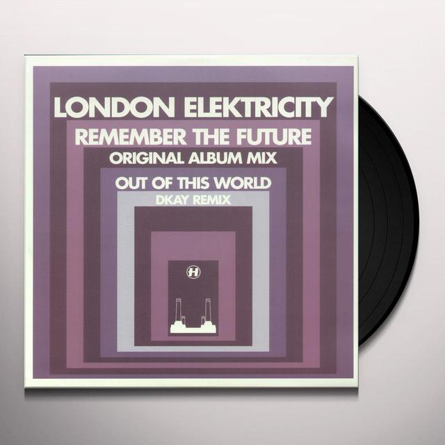 London Elektricity REMEMBER THE FUTURE Vinyl Record - UK Import