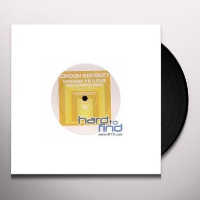 London Elektricity REMEMBER THE FUTURE REMIX Vinyl Record - UK Import