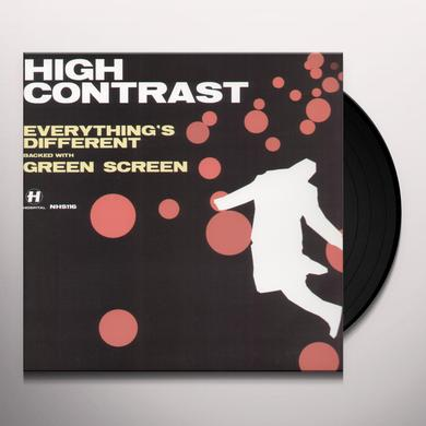 High Contrast EVERYTHINGS DIFFERENT Vinyl Record - UK Release