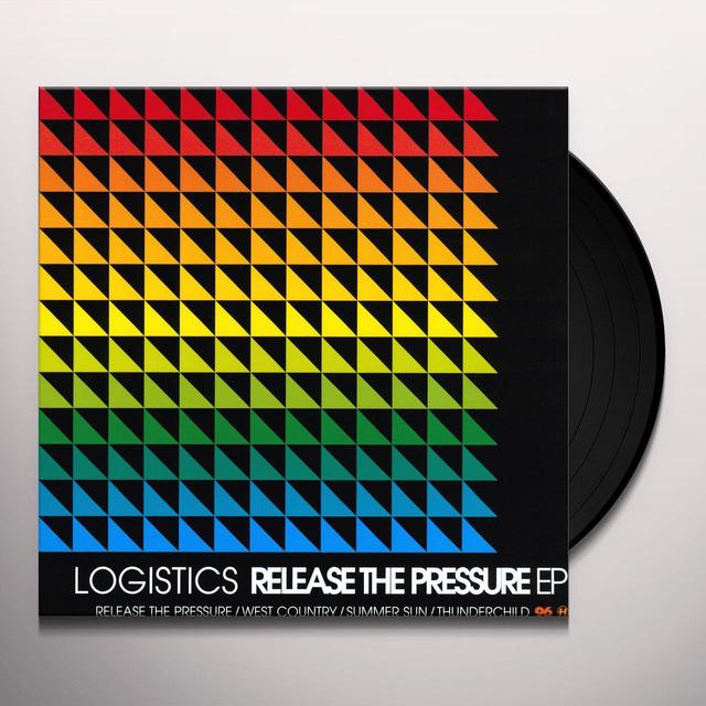 Logistics RELEASE THE PRESSURE EP Vinyl Record - UK Import