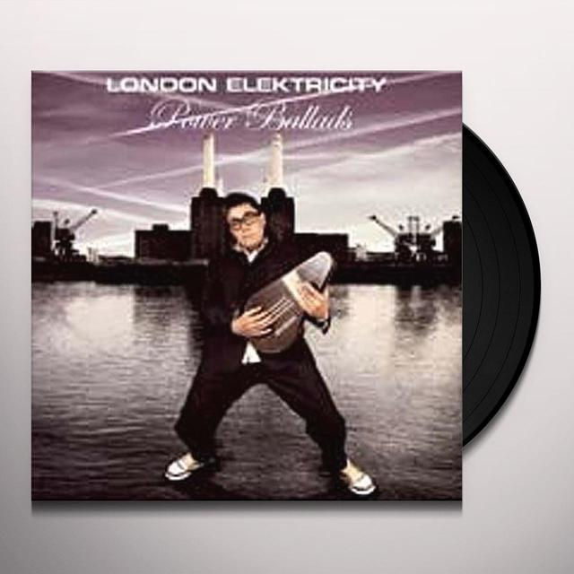 London Elektricity POWER BALLADS Vinyl Record - UK Release