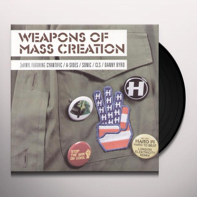 Vol. 3-Weapons Of Mass Creation / Various (Uk) VOL. 3-WEAPONS OF MASS CREATION / VARIOUS Vinyl Record - UK Import