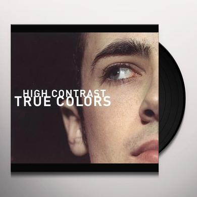 High Contrast TRUE COLOURS Vinyl Record