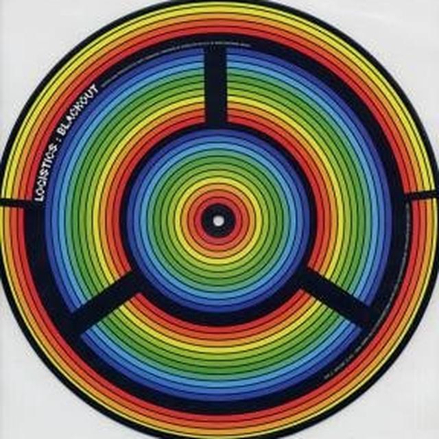 Logistics BLACKOUT/KRUSTY BASS RINSER Vinyl Record - UK Release