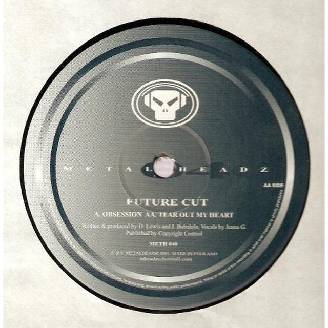 Future Cut OBSESSION/TEAR OUT YOUR HEART Vinyl Record - UK Import