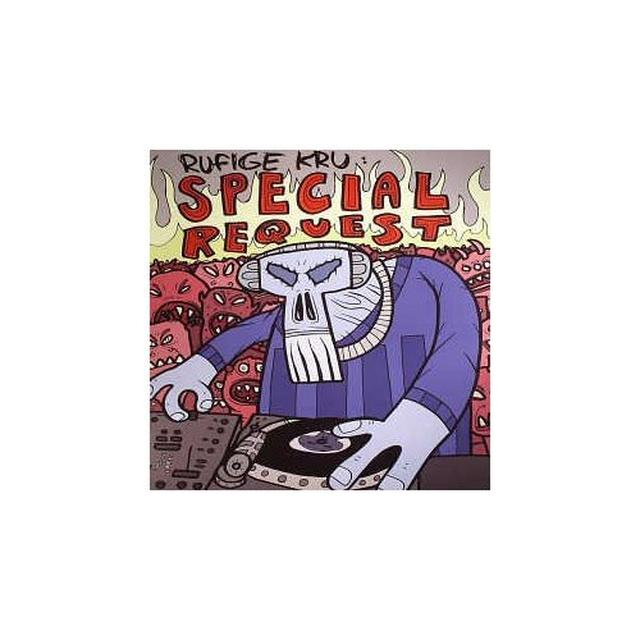 Rufige Kru MONKEY BOY/SPECIAL REQUEST Vinyl Record - UK Release