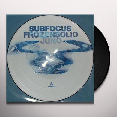 Sub Focus FROZEN SOLID/JUNO Vinyl Record - UK Release