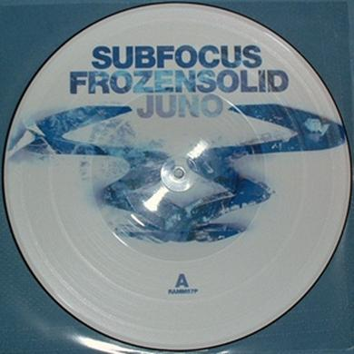 Sub Focus FROZEN SOLID/JUNO Vinyl Record - UK Release