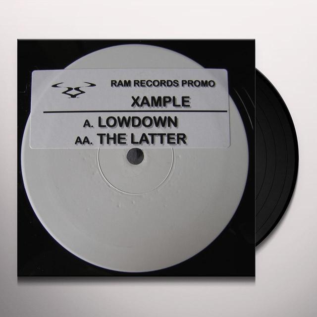 Xample LOWDOWN/THE LATTER Vinyl Record