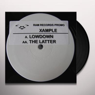 Xample LOWDOWN/THE LATTER Vinyl Record - UK Import