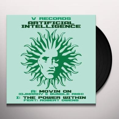 Artificial Intelligence MOVIN ON/THE POWER WITHIN Vinyl Record - UK Import