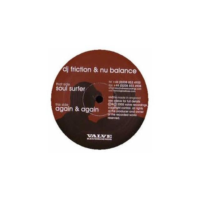 Dj Friction & Nu Balance SOULSURFER/AGAIN & AGAIN Vinyl Record - UK Import