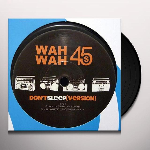 Jamie Finlay DON'T SLEEP Vinyl Record - UK Release