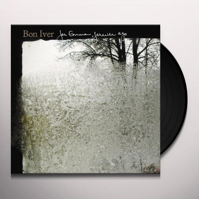 Bon Iver FOR EMMA-FOREVER AGO Vinyl Record - UK Release
