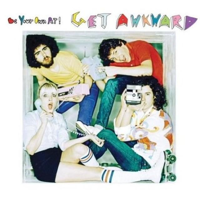 Be Your Own Pet GET AWKWARD Vinyl Record - UK Release