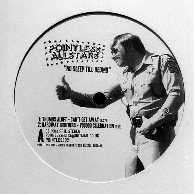Pointless Allstars NO SLEEP TIL BEDMO Vinyl Record - UK Release