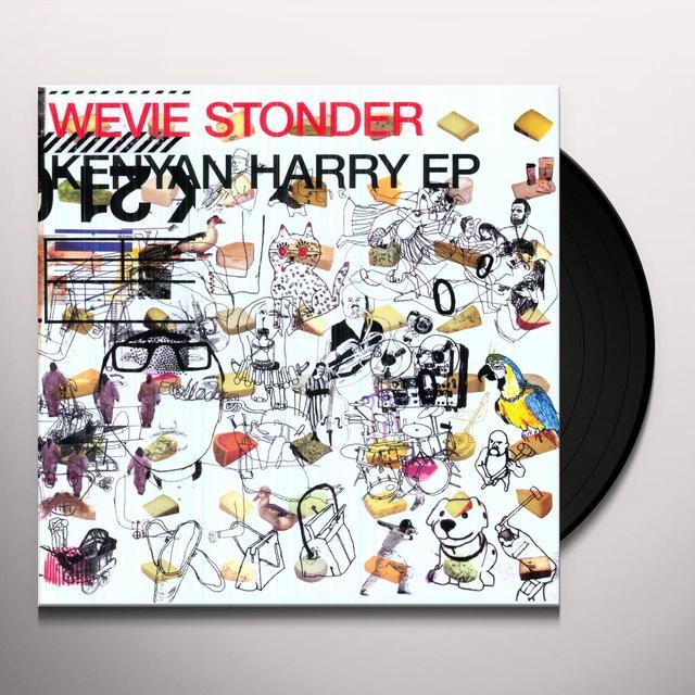 Wevie Stonder KENYAN HARRY Vinyl Record