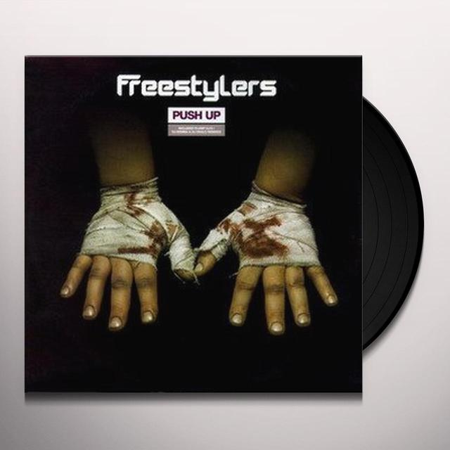 Freestylers PUSH UP MIXES Vinyl Record - UK Import