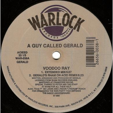 A Guy Called Gerald VOODOO RAY Vinyl Record - UK Release