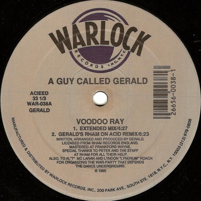 A Guy Called Gerald VOODOO RAY Vinyl Record