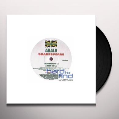 Akala SHAKESPEARE Vinyl Record - UK Import