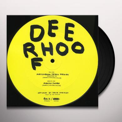 Deerhoof MATCHBOOK SEEKS MANIAC Vinyl Record - UK Import