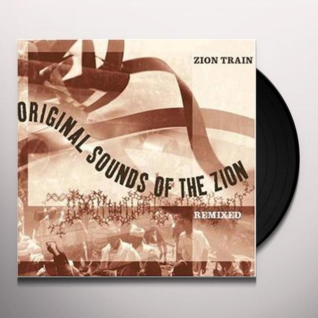 Zion Train ORIGINAL SOUNDS OF THE ZION REMIXED Vinyl Record - UK Import