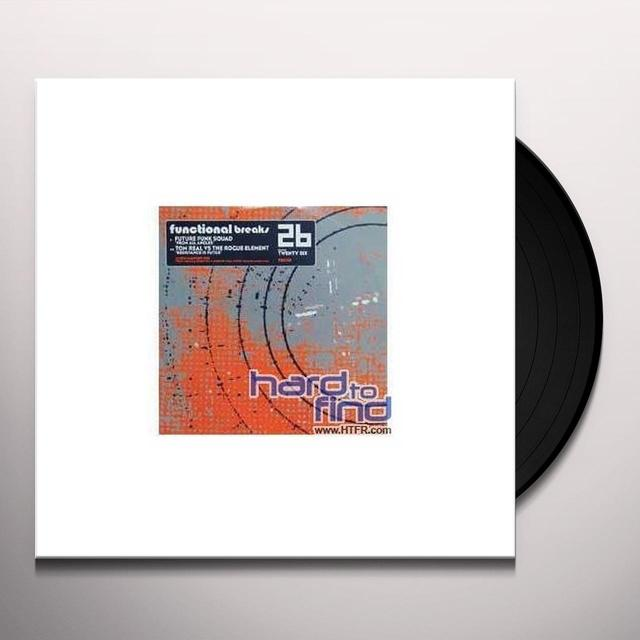 Future Funk Squad.Tom Real Vs Rog FROM ALL ANGLES/RESISTANCE IS FUTILE Vinyl Record - UK Release
