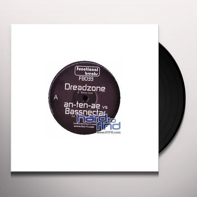 Dreadzone BOOTY LINE Vinyl Record - UK Import