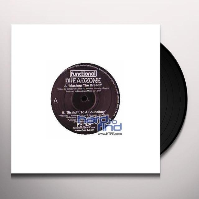 Dreadzone MASH UP DREADZ/STRAIGHT TO SOUNDBOY Vinyl Record