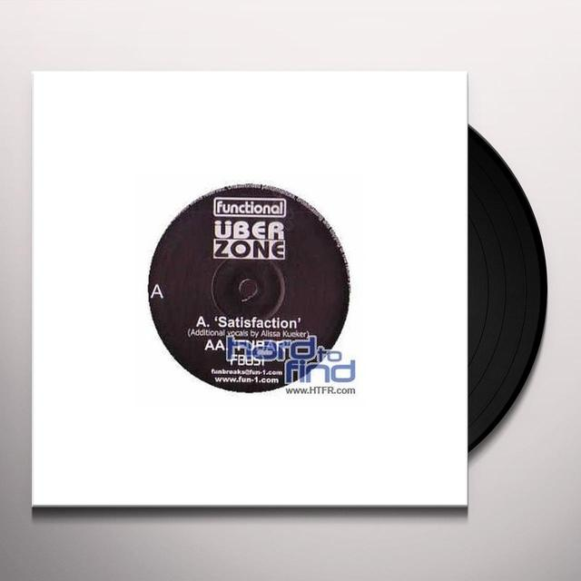 Uberzone SATISFACTION/FUBAR Vinyl Record