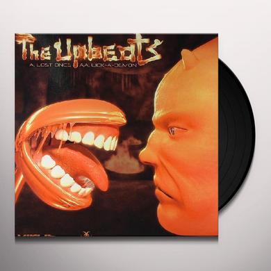 Upbeats LOST ONCE/LICK-A-DEMON Vinyl Record - UK Import