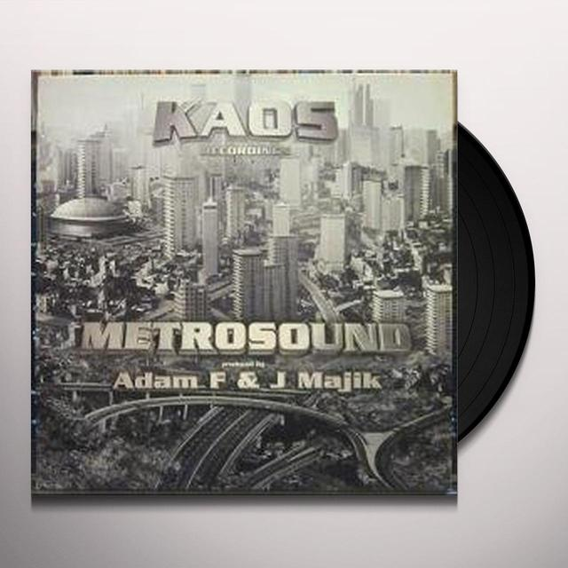 Adam F & J Majik METROSOUND Vinyl Record - UK Import