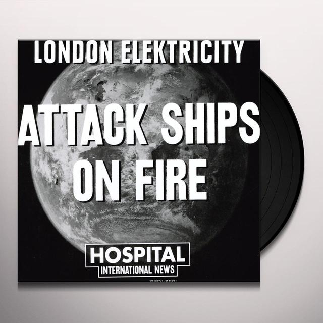 London Elektricity ATTACK SHIPS ON FIRE/SOUTHEASTERN DREAM Vinyl Record - UK Import