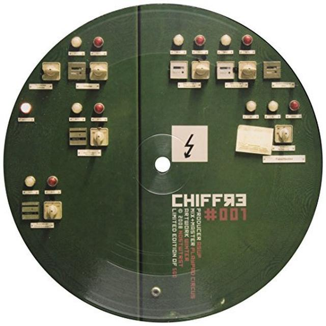 Asup CHIFFRE Vinyl Record - UK Release