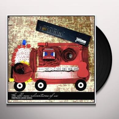 The All New Adventures of Us FIRETRUCK Vinyl Record