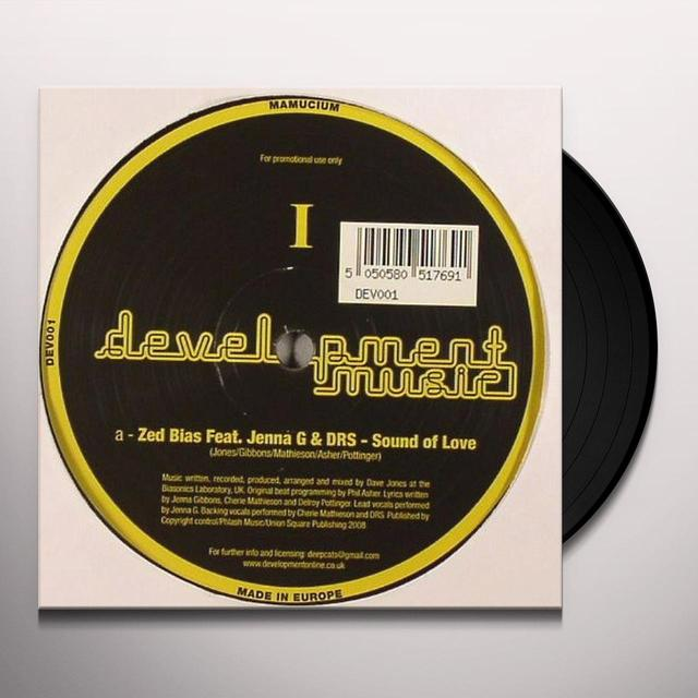 Zed Bias SOUND OF LOVE Vinyl Record - UK Release