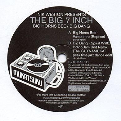 Big Horns Bee / Big Bang BIG 7 INCH Vinyl Record - UK Release