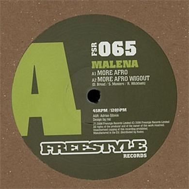 Malena MORE AFRO Vinyl Record - UK Release