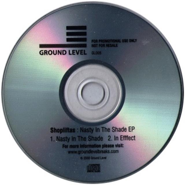 Shopliftas NASTY IN THE SHADE EP Vinyl Record - UK Release