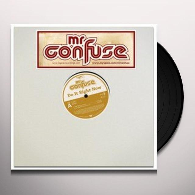 Mr. Confuse DO IT RIGHT Vinyl Record - UK Release