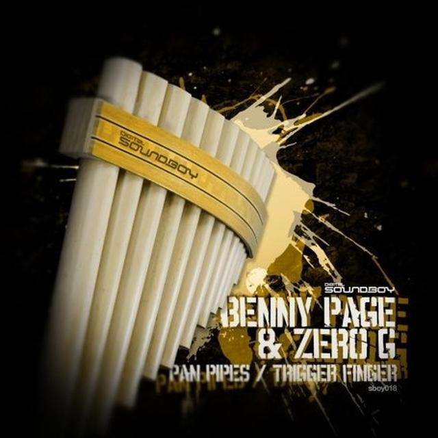 Benny Page & Zero G PAN PIPES/TRIGGER FINGER Vinyl Record - UK Import