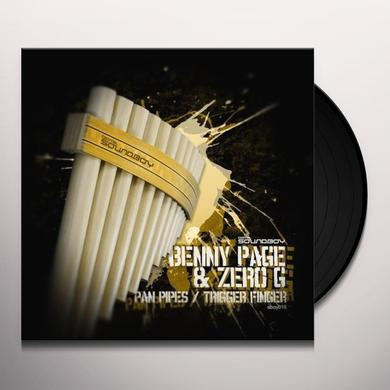 Benny Page & Zero G PAN PIPES/TRIGGER FINGER Vinyl Record