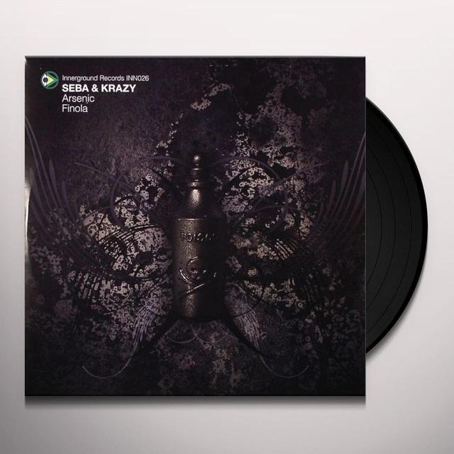 Seba & Krazy ARSENIC/FINOLA Vinyl Record - UK Release