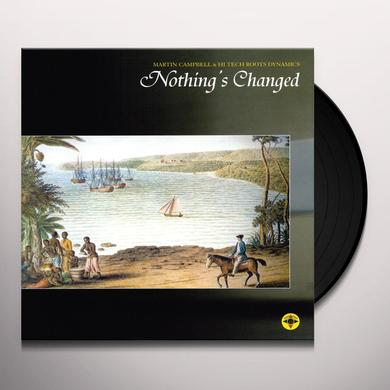 Martin Campbell NOTHINGS CHANGED/ITS STRANGE Vinyl Record - UK Import